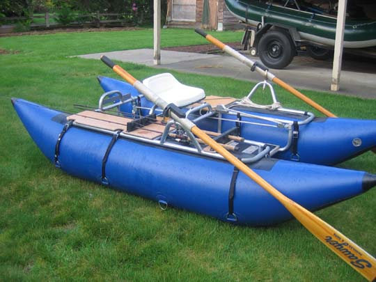 Small inflatable pontoon boats: Advice needed! - Fly Fishing