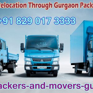#Shifting in #Gurgaon
